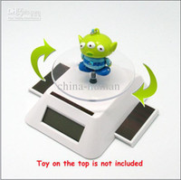 Wholesale china post Solar Power Rotating Display Base Stand Table Plate