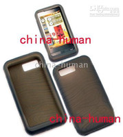 Wholesale 50pcs Silicone Skin Case Cell Phone Cases Pouches for Samsung SGH i900 Omnia i908