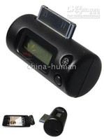 Wholesale Brand New LCD CAR FM TRANSMITTER CHARGER FOR APPLE IPOD NANO iphone g