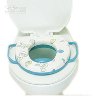 Zhejiang, China (Mainland) U055  baby soft toilet seat cushion child seat with handles baby toilet seats FREE SHIPPING U055