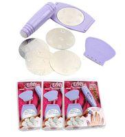 UV Gel Nail Art Set No  Nail Art Stamping Kit Salon Express Printing Stickers Nail Wraps Scraper DIY Nail Tools