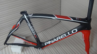 Wholesale Pinarello Dogma Think2 Pinarello aero frame black red Frame fork seatpost clamp headset gifts