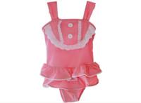 2-6 bathing suit baby - kids jumpsuits baby bathing suit Girls swimwear bikini Girls wetsuit children wear bathing suit