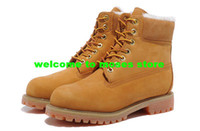 Wholesale Wool Men And Women Shoes Wool Snow Boots wheat euro size