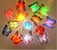Insect color changing night light - Best price Colorful Butterfly Night Light LED Color Changing Lamp Light decoration Gift