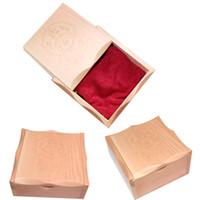 Wholesale 2013 fashion pc wooden with cloth tattoo box for tattoo gun machine unit