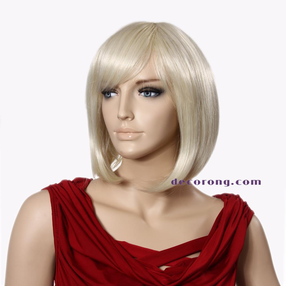 bob wigs for black women synthetic wigs short wigs with bangs chinese ...