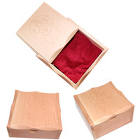 Wholesale new wooden with cloth cheap cute classic pc tattoo box for tattoo machine gun unit