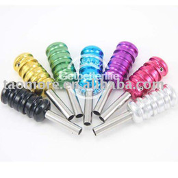 Wholesale Best tools for tattoo colorful Aluminum Alloy tattoo Grips Tubes with back stem