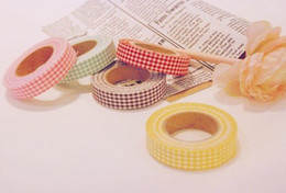 Washi Masking Tissu Ruban Ruban adhésif de décoration en tissu de style Janpan Fleur Frabric bande bricolage à partir de washi bande de tissu fabricateur