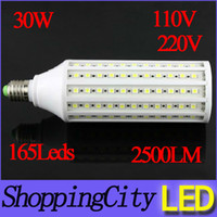 hot E27 led corn light warm white 30W AC110V 220V LED lamp b...