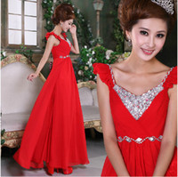 Wholesale Package dress evening gown diamond wedding dress