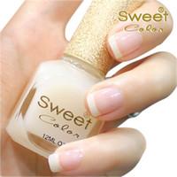 Pinks Nail Polish Gradient The sweet color nail polish transparent oil Care Nail shea butter Primer 12 ml