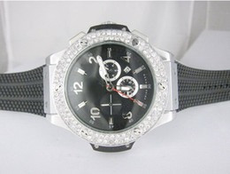 Wholesale mens Diamond bezel big bang Automatic master Mechanical Fashion men watch Luxury sports Stainless steel Men s Watches