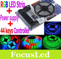 Wholesale Best Gift SMD RGB Led Strip Light M Led Waterproof Key Controller V A transformer