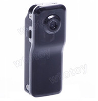 Wholesale 5PC High Resolution Mini DV DVR Sports Video Record Camera MD80 Camcorder