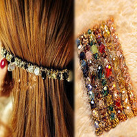 Wholesale CONTRAST COLOR colorful headdress hairpins