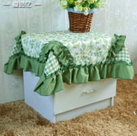 Wholesale Tea table tablecloth Cover cloth Patchwork garden style110 cm inch thickening tablecloth