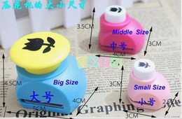 Wholesale Brand New mini craft printing hole punch Style Scrap booking Paper Shaper Edge Craft Punch Card Making