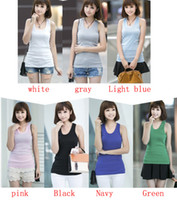 Wholesale MONDE SWM Basic Womens Solid Tank Top Racer Back Cami Vest No Sleeve T Shirt