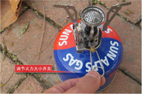 Wholesale New arrival Outdoor mini camping burner With electronic stoves