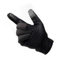 Wholesale Men Women Outdoor Gloves Bicycle Winter Ride Ski Fleece Touch Screen Gloves Size S M L XL