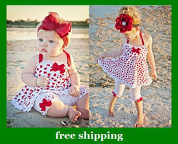 2017 faldas para las muchachas de los niños Sling encantan las chicas de dos piezas traje de falda + pantalones de los juegos del bebé ropa del verano de los niños del arco del envío libre barato faldas para las muchachas de los niños