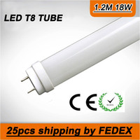 Wholesale FREE SHIPPPING W T8 LED Tube SMD LM Light Lamp Bulb feet m AC V lights led lighting year warranty by FEDEX