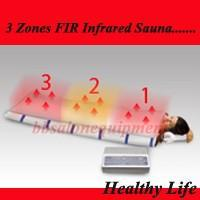 Wholesale 3Zones FAR Infrared Sauna Health Heat Fitness Spa Fat Reduction Weight loss Body Shaping Wrap System