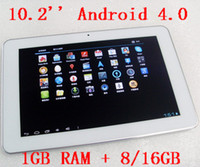 Android 4. 0 1GB RAM+ 8GB White tablet pc, 10. 2 inch 16: 9 wide...