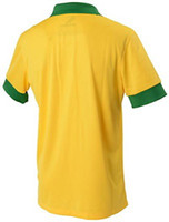 Wholesale Thai Quality Brazil Home Shirt Soccer Jersey Shirts Football Jerseys Jersey Tops