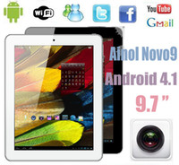 Wholesale Ainol Novo Firewire Allwinner A31 Inch IPS Retina Capacitive Screen WIFI G Tablet PC Notebook