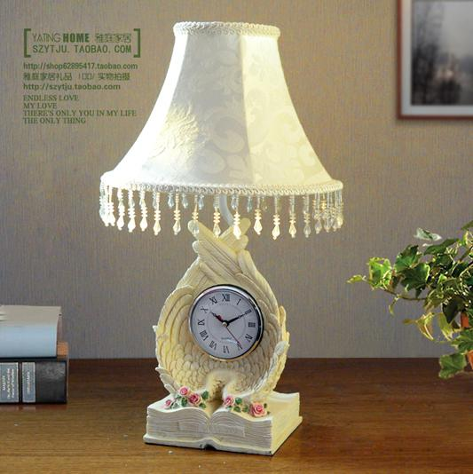 Table Lamp With Clock Fashion Table Lamp Clock