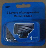 Wholesale shaving razor pack cartridges per pack razors blades top quality