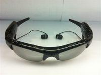 al por mayor gafas mp3-MP3 DVR gafas de sol cámara ocultos grabador gafas DV Mobile Eyewear webcam soporte 8GB TF / SD Card