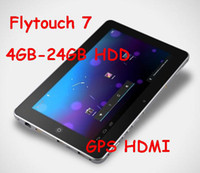 Wholesale 10 quot GB RAM GB HDD Android Allwinner A10 GHz GPS WIFI HDMI tablet pc flytouch