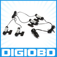 led lights 12v car - LED Interior Decoration x LED Car Charge V Glow Interior Decorative in1 Atmosphere Light Lamp