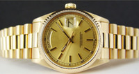 Wholesale Mens k Gold President Champagne Automatic Luxury Mens Watch Wristwatch Men s Watches