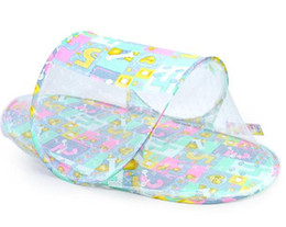 Wholesale Baby Mosquito Net Fold Safety Mosquito Net Boat Style Playpen Shade Travel Tent Bed