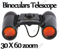 Wholesale 60pcs O51 X60 Zoom Mini Binoculars Telescope Folding Day Vision126m m with Retail Box
