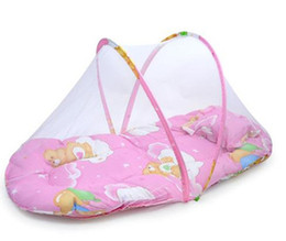 Wholesale Folding Baby Mosquito Net with a Scapegoat Pillow Portable Baby Mosquito Nets Summer Essential