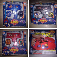 Wholesale hot new Beyblade Top Set Metal Fusion Sol Blaze Double Launcher