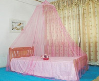 baby as photo Multi-Color Mix color baby bed mosquito net folding belt Elegant Lace Bed Canopy Mosquito Net