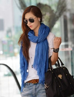 Wholesale Fashion Lady Shawl Cm Color Rectangle Scarves Scarf Shawl