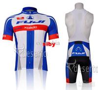 Wholesale 2013 HOT NEW FUJI Short Sleeve Cycling Jerseys Set Cycling Wear Clothing BIB Shorts CB013