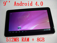 White 9 inch 16: 9 wide TFT LED screen Tablet PC, Android 4. 0...