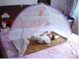 Wholesale Summer Hot Quartet infant mosquito net bed baby must square baby mosquito nets bed