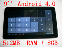 40pcs lot Android 4. 0 with 9 inch 16: 9 wide TFT LED screen T...
