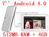Android 4. 0 Tablet PC, 7 inch LED touch screen, 512MB, 4GB, 800*...