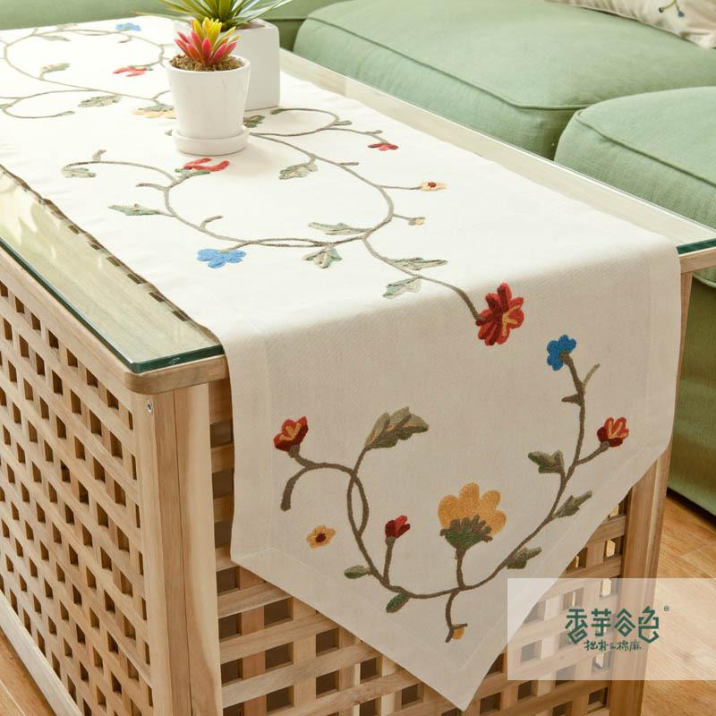 ... Cloth Brief Runner Coffee A10 Linen Cloth Runner Fashion Table Table  Table Coffee Size ...